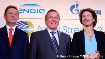 Париж, 2017 год. При содействии Герхарда Шрёдера к Северному потоку-2 присоединяется французская Engie