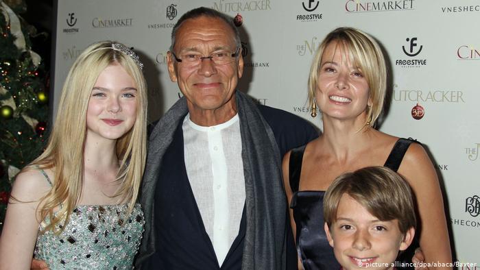 С семьей на премьере в Лос-Анджелесе