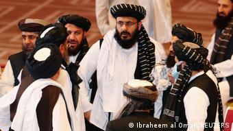 На переговорах между талибами и представителями афганского правительства в Катаре в сентябре 2020 года