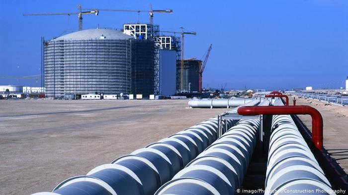 Резервуары для СПГ в Катаре