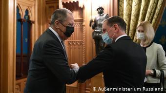 Лавров и Хрупалла в Москве, декабрь 2020 года