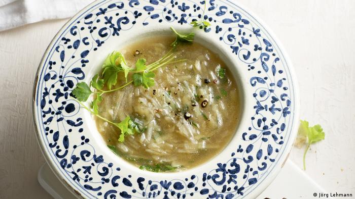 Наше кулинарное наследие - Фунцельзуппе или суп с проблесками