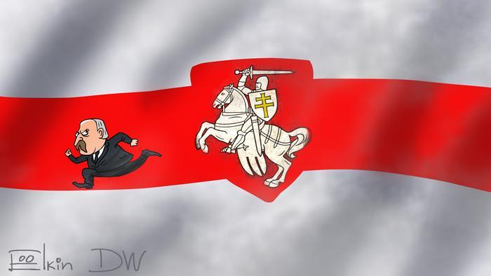 Тысячи белорусов протестуют против действующего президента Александра Лукашенко. По мнению Сергея Елкина, исторические флаг и герб Беларуси не случайно стали одним из символов протеста.