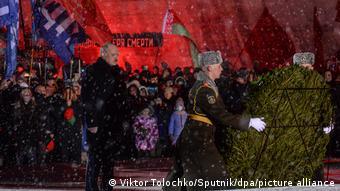 Александр Лукашенко на памятных мероприятиях в очередную годовщину Хатынской трагедии, 21 марта