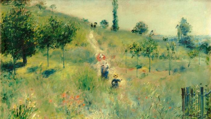 Огюст Ренуар, Тропинка в высокой траве.1876/77 гг.