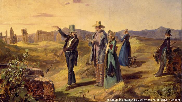 Карл Шпицвег, Англичане в Кампанье, 1835 г.