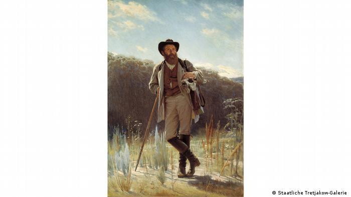 Портрет художника И. И. Шишкина. Иван Крамской. 1873 г.