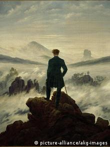 Каспар Давид Фридрих. Странник над морем тумана (1818)