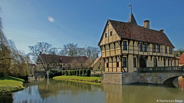 Замок Бургштайнфурт (Schloss Burgsteinfurt)