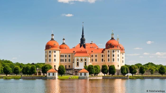 Замок Морицбург (Moritzburg)