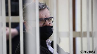 Виктор Бабарико на судебном процессе