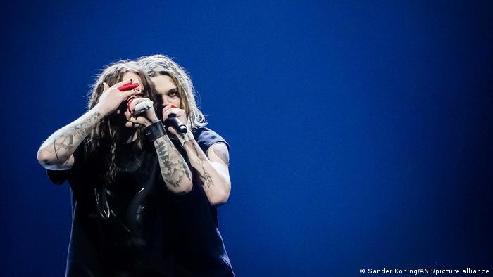 Blind Channel из Финляндия на сцене Евровидения-2021