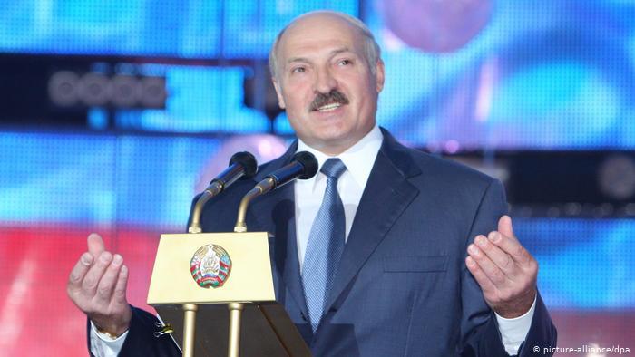 Президент Беларуси Александр Лукашенко открывает фестиваль искусств Славянский базар в Витебске, фото из архива, 2010 год