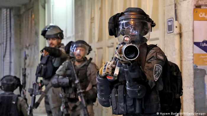 Сотрудники сил безопасности Израиля