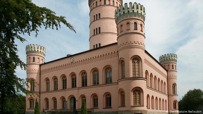 Замок Границ (Granitz) на острове Рюген (Rügen). Фото: DW / Максим Нелюбин