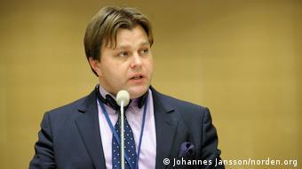 Замминистра иностранных дел Литвы Мантас Адоменас