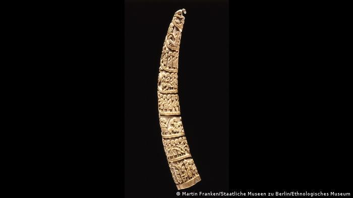 Экспонат выставки Ужасно красиво: слон - человек - слоновая кость