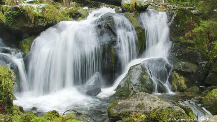 Трибергские водопады (Triberger Wasserfälle), Баден-Вюртемберг