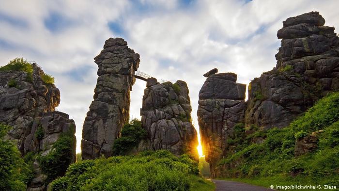 Эксерские камни (Экстернштайне ), Северный Рейн - Вестфалия
