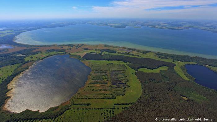 Озеро Мюриц (Müritzsee), Мекленбург - Передняя Померания