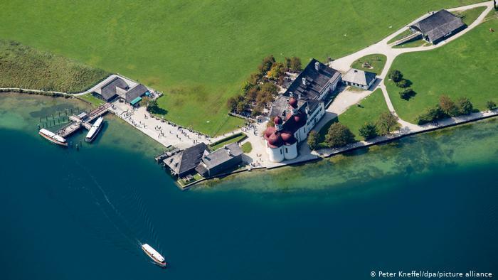 Озеро Кёнигсзе (Königssee), Бавария