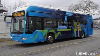Водородный автобус в городе Висбадене