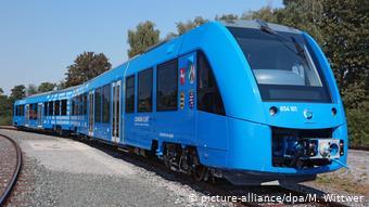 Водородная электричка Coradia iLint компании Alstom