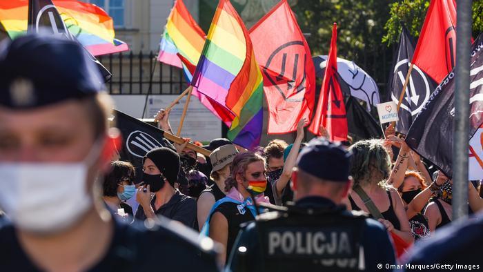 ЛГБТ-марш в Кракове, 16 августа 2020 года