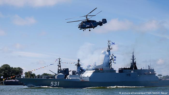 Russland Militärmanöver der Baltischen Flotte (picture-alliance/dpa/ITAR-TASS/V. Nevar)