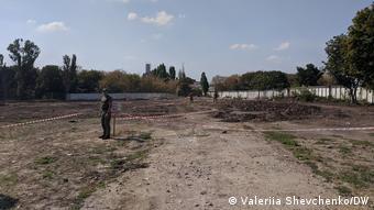 бывшая свалка в Одессе - место захоронения жертв Большого террора