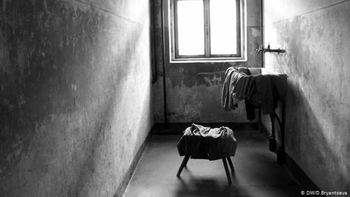 Камера заключенного в лагере Аушвиц 1