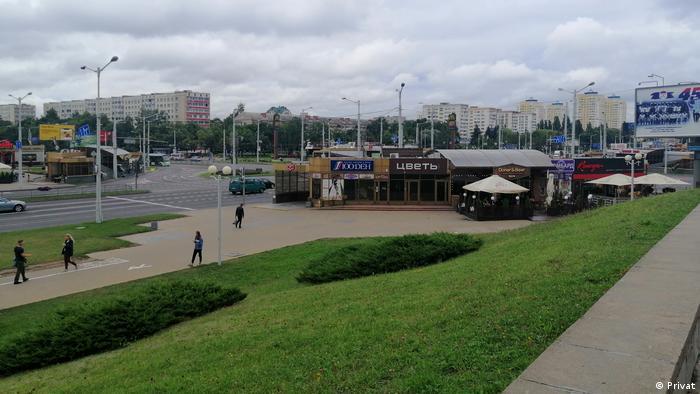 Станция метро Пушкинская в Минске
