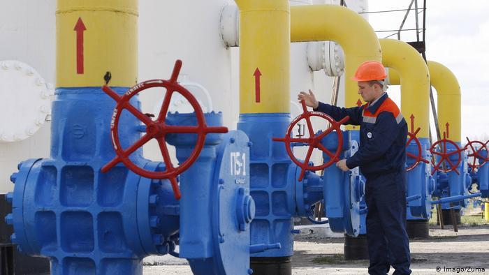 Компрессорная станция на экспортном газопроводе в Украине